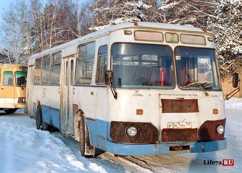 Автобусы города Тюмень