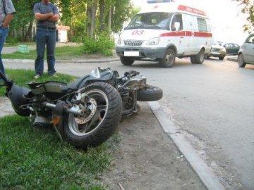В Заводоуковске скутеристка сбила 4-х летнюю девочку