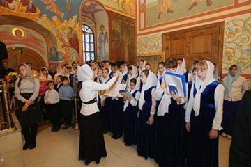 В Тобольске прошел ежегодный региональный детский фестиваль «Духовная песнь Православной Сибири»