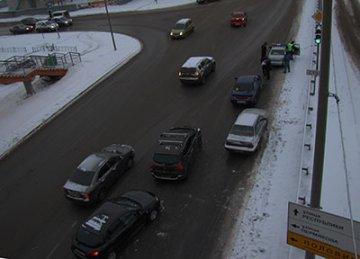 Нетрезвый водитель Ауди устроил массовое ДТП на ул. 50 лет ВЛКСМ