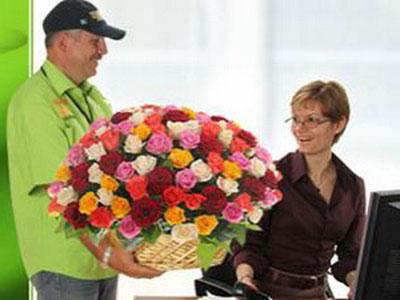 Доставка цветов в Новосибирске от надежного поставщика