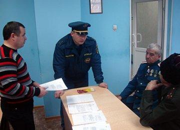 Заводоуковские казаки окажут помощь местным пожарным