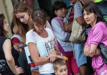 В Тюмени встречали украинских беженцев