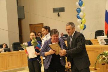 В Тюмени чествовали победителей и призеров «Губернских игр - 2014»