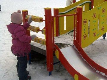 В Ленинском округе открылась новая детская площадка