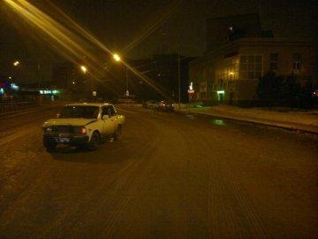 Сегодня ночью в Тюмени на ул. Олимпийской произошло тройное ДТП