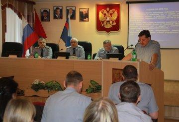 В Тюменском УФСИН прошло оперативное совещание по итогам года