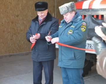 В Ишимском муниципальном районе открылось здание отдельного поста ПЧ № 53