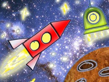 Рисунки тюменских школьников отправятся на орбиту
