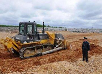 В Тюмени уничтожили партию польских яблок