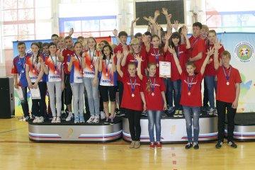 В Тюмени прошли областные спортивные игры  для школьников