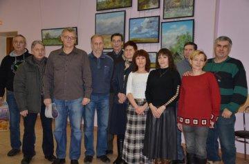 В ДКиТ «Торфяник» состоялось открытие выставки художника Олега Шевченко